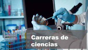 carreras de ciencias