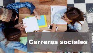 carreras sociales
